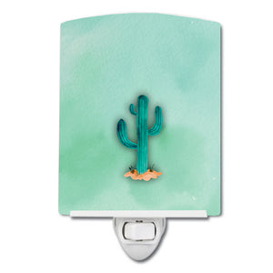 Buy this Western Cactus Watercolor Ceramic Night Light BB7369CNL