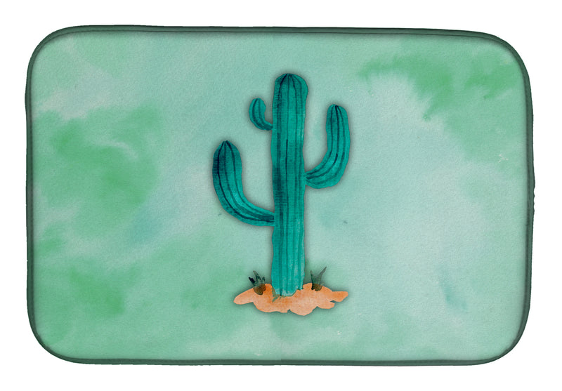 Buy this Western Cactus Watercolor Dish Drying Mat BB7369DDM
