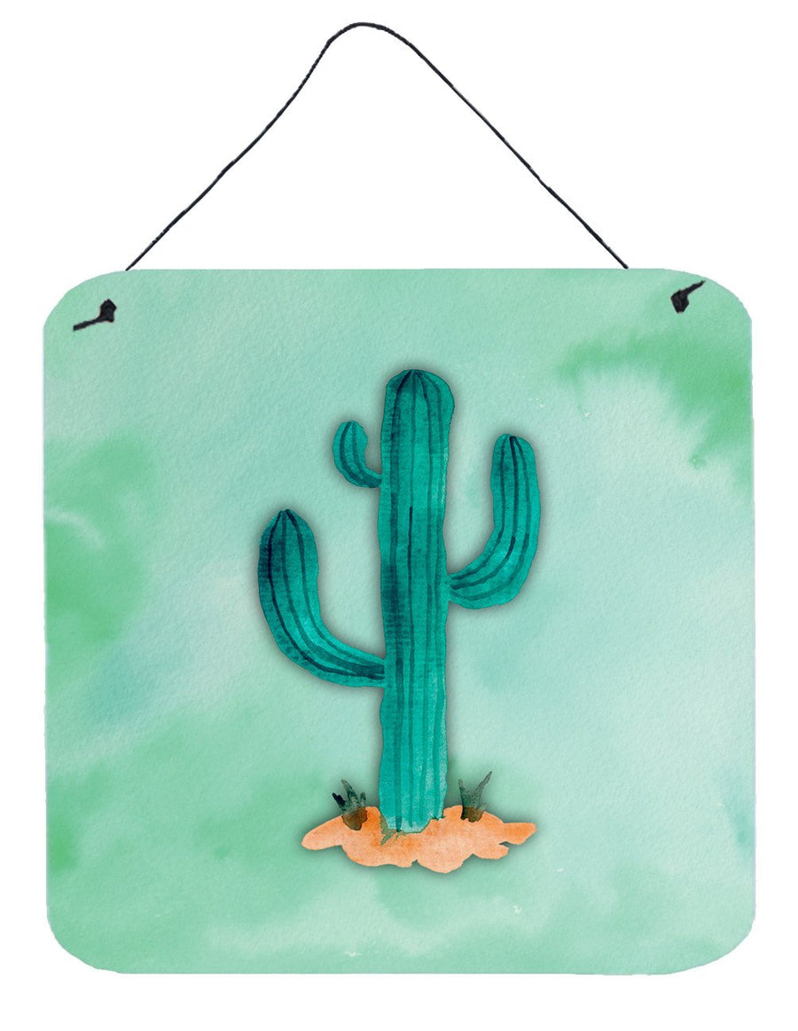 Buy this Western Cactus Watercolor Wall or Door Hanging Prints BB7369DS66