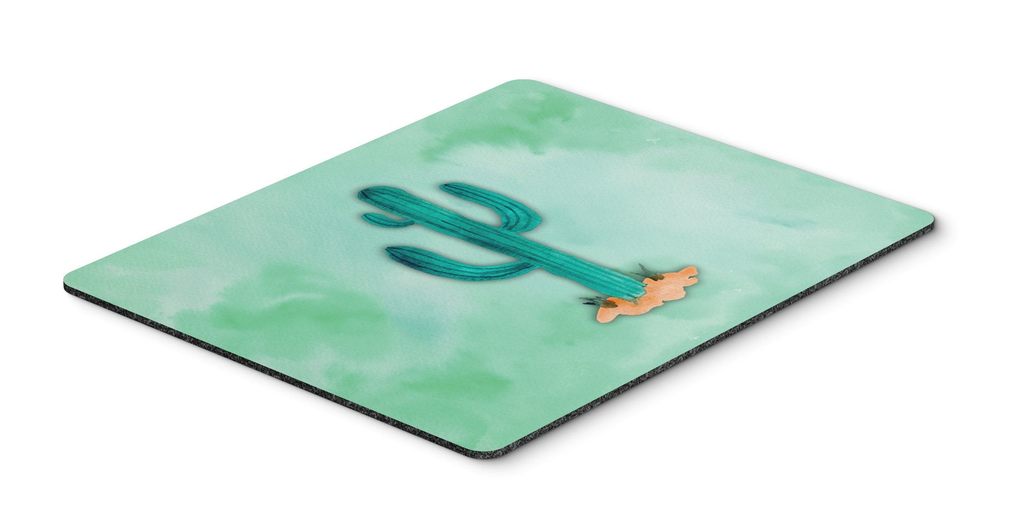 Buy this Western Cactus Watercolor Mouse Pad, Hot Pad or Trivet BB7369MP