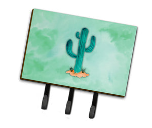 Buy this Western Cactus Watercolor Leash or Key Holder BB7369TH68