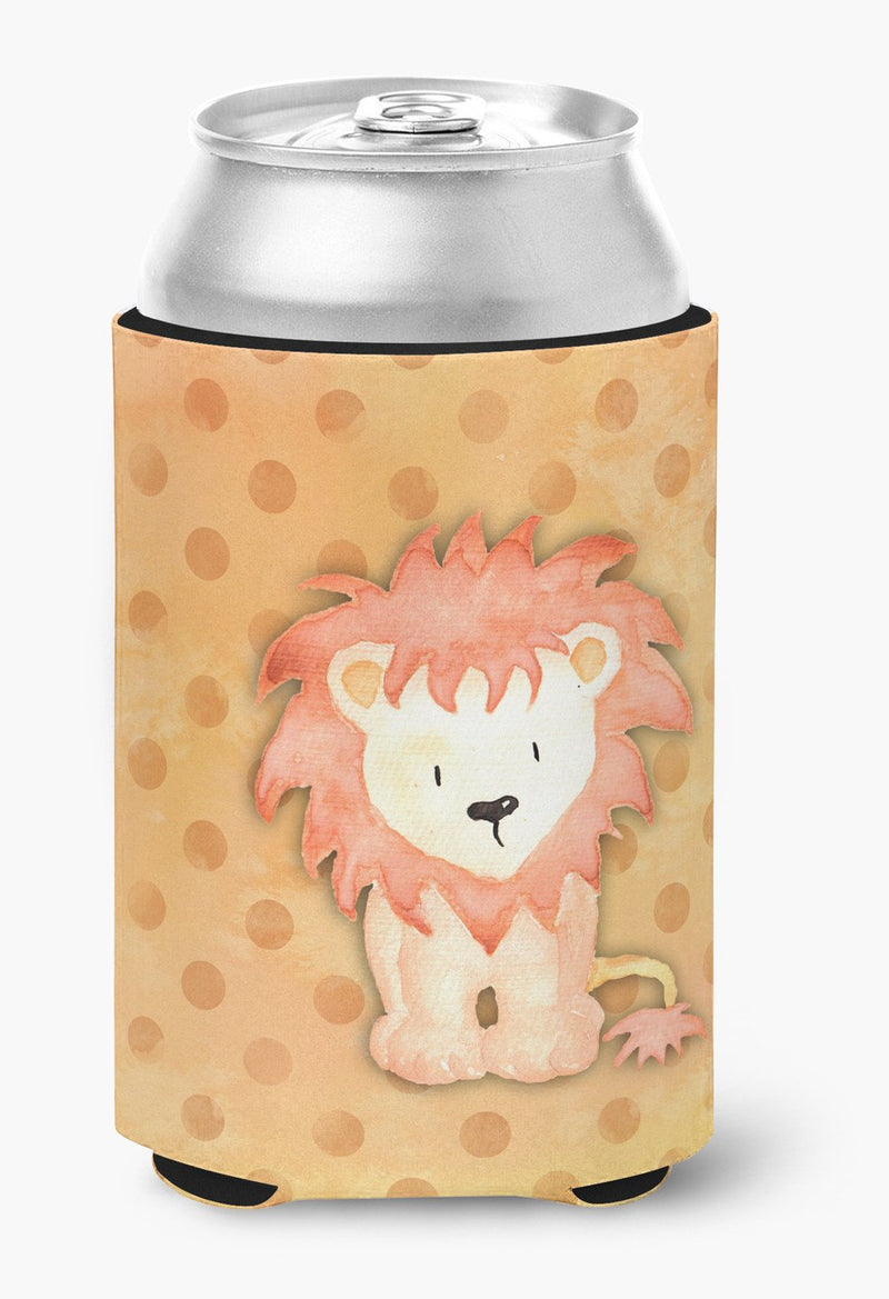 Buy this Polkadot Lion Watercolor Can or Bottle Hugger BB7374CC