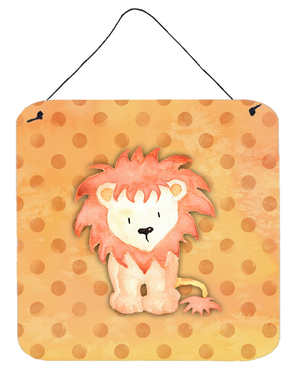 Buy this Polkadot Lion Watercolor Wall or Door Hanging Prints BB7374DS66