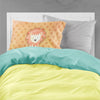 Polkadot Lion Watercolor Fabric Standard Pillowcase BB7374PILLOWCASE