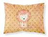 Buy this Polkadot Lion Watercolor Fabric Standard Pillowcase BB7374PILLOWCASE