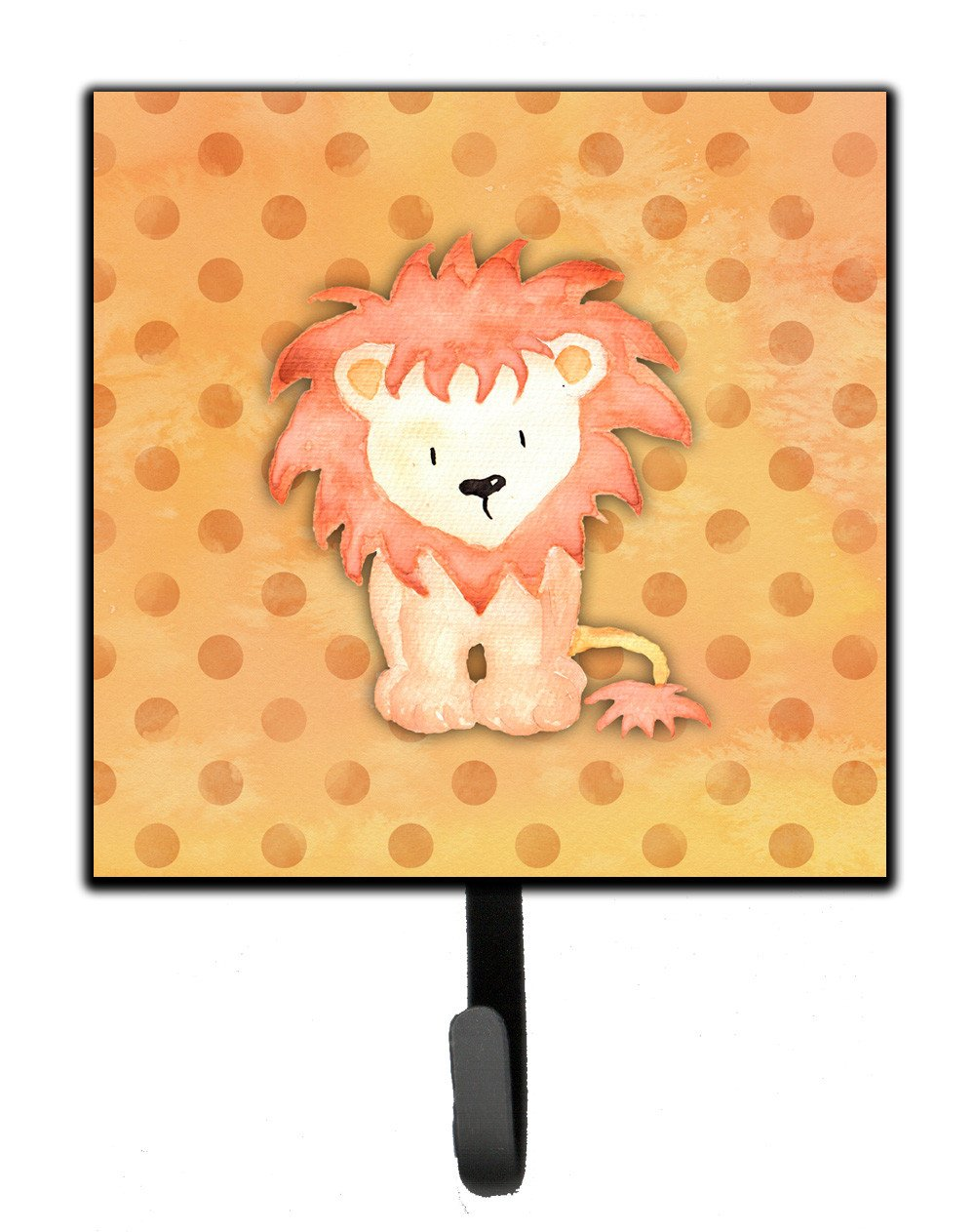 Polkadot Lion Watercolor Leash or Key Holder BB7374SH4 by Caroline's Treasures
