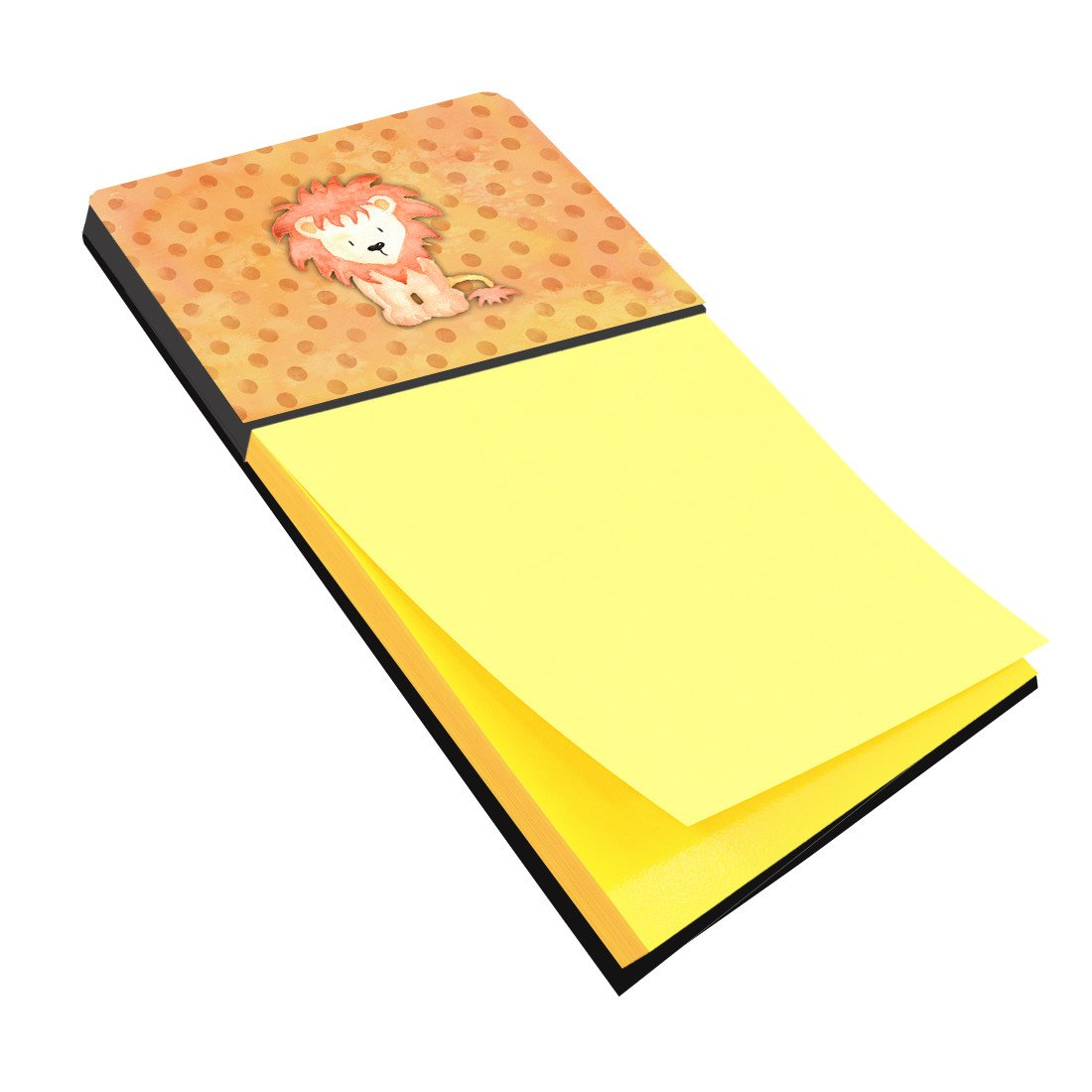 Polkadot Lion Watercolor Sticky Note Holder BB7374SN by Caroline's Treasures