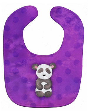 Buy this Polkadot Panda Bear Watercolor Baby Bib BB7375BIB
