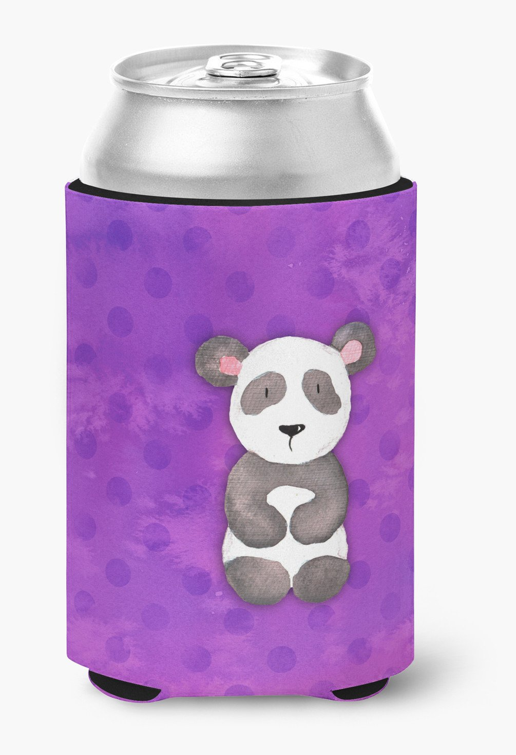 Buy this Polkadot Panda Bear Watercolor Can or Bottle Hugger BB7375CC