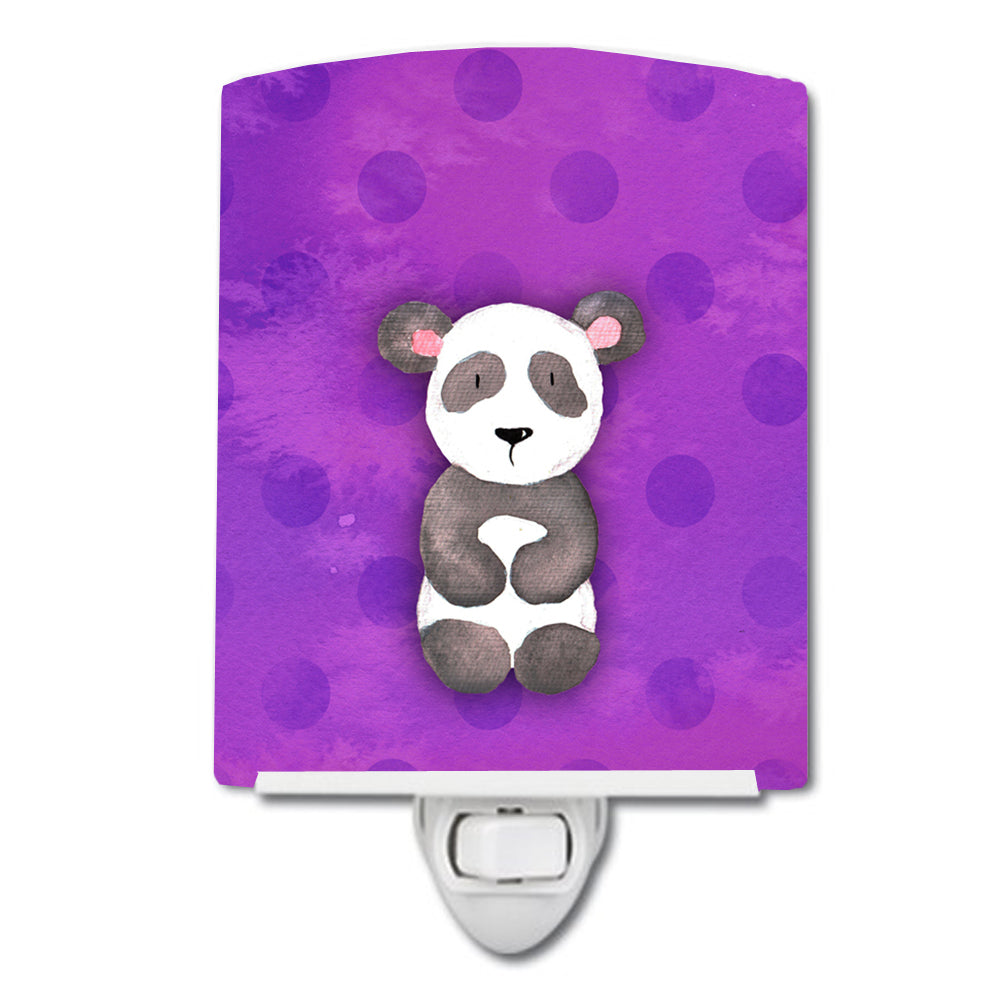 Buy this Polkadot Panda Bear Watercolor Ceramic Night Light BB7375CNL