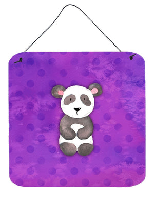 Buy this Polkadot Panda Bear Watercolor Wall or Door Hanging Prints BB7375DS66