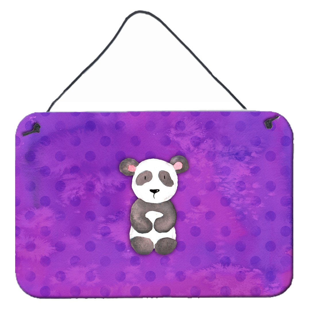 Buy this Polkadot Panda Bear Watercolor Wall or Door Hanging Prints BB7375DS812