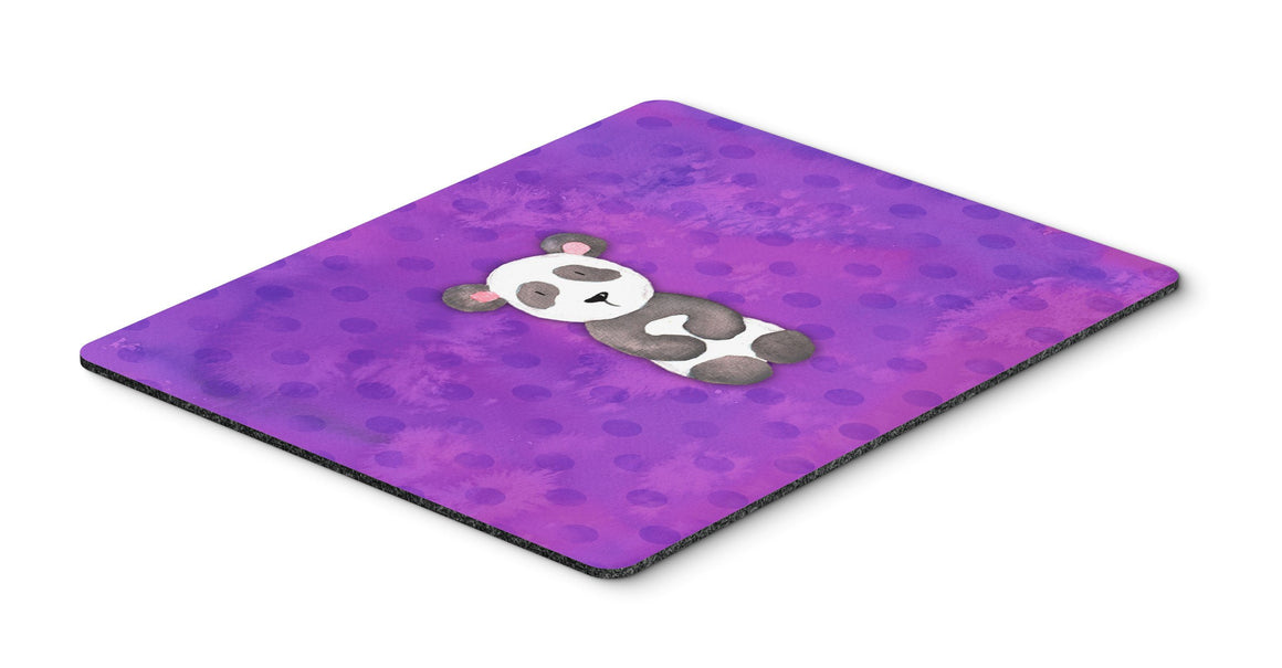 Buy this Polkadot Panda Bear Watercolor Mouse Pad, Hot Pad or Trivet BB7375MP