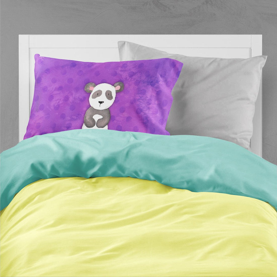 Buy this Polkadot Panda Bear Watercolor Fabric Standard Pillowcase BB7375PILLOWCASE