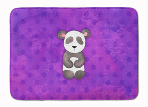 Buy this Polkadot Panda Bear Watercolor Machine Washable Memory Foam Mat BB7375RUG