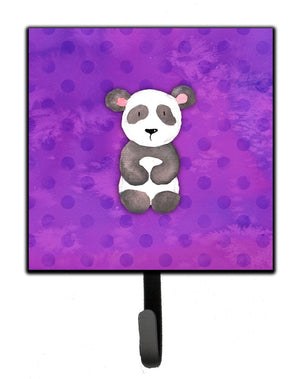 Buy this Polkadot Panda Bear Watercolor Leash or Key Holder BB7375SH4