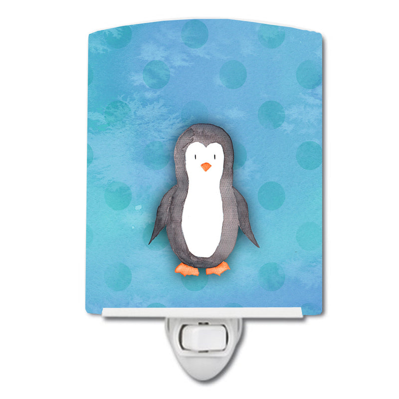 Buy this Polkadot Penguin Watercolor Ceramic Night Light BB7376CNL