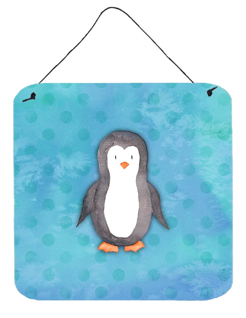 Buy this Polkadot Penguin Watercolor Wall or Door Hanging Prints BB7376DS66