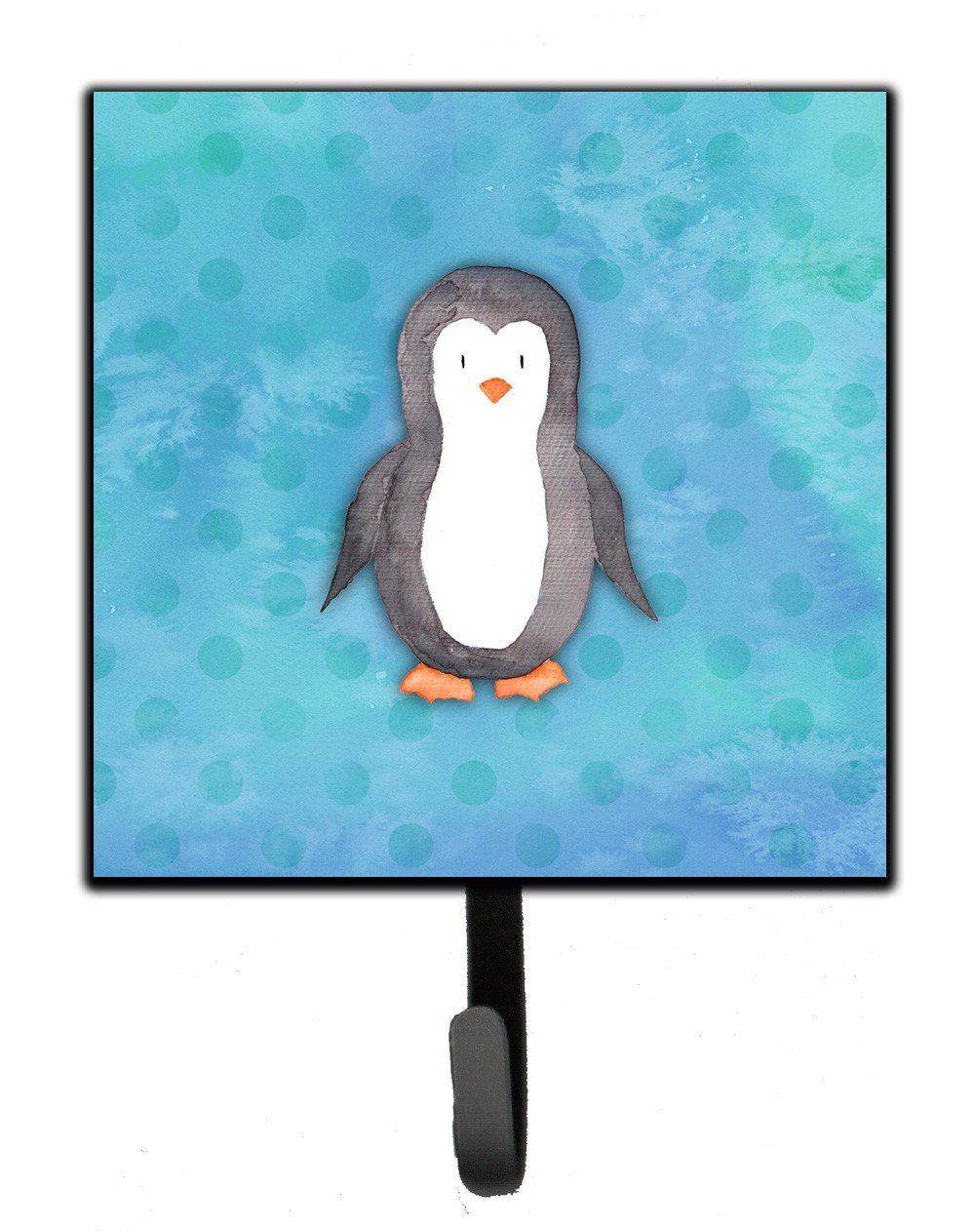 Buy this Polkadot Penguin Watercolor Leash or Key Holder BB7376SH4