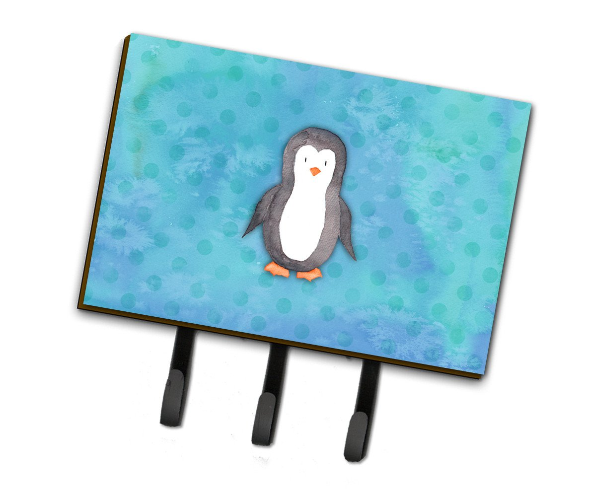 Buy this Polkadot Penguin Watercolor Leash or Key Holder BB7376TH68