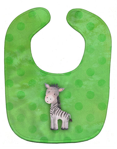 Buy this Polkadot Zebra Watercolor Baby Bib BB7377BIB