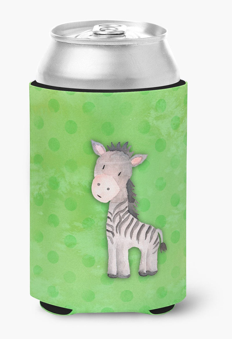 Buy this Polkadot Zebra Watercolor Can or Bottle Hugger BB7377CC