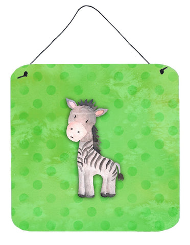 Buy this Polkadot Zebra Watercolor Wall or Door Hanging Prints BB7377DS66