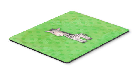 Buy this Polkadot Zebra Watercolor Mouse Pad, Hot Pad or Trivet BB7377MP