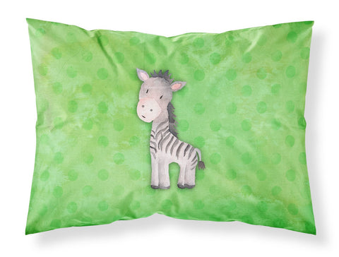 Buy this Polkadot Zebra Watercolor Fabric Standard Pillowcase BB7377PILLOWCASE