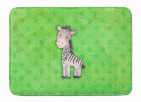 Buy this Polkadot Zebra Watercolor Machine Washable Memory Foam Mat BB7377RUG
