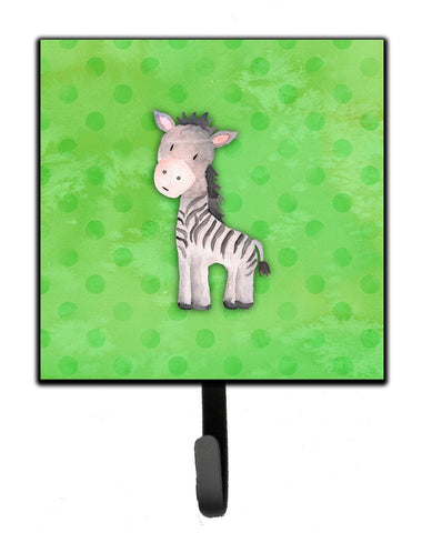 Buy this Polkadot Zebra Watercolor Leash or Key Holder BB7377SH4