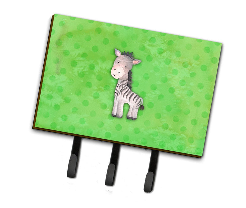 Buy this Polkadot Zebra Watercolor Leash or Key Holder BB7377TH68