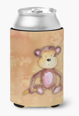 Buy this Monkey Watercolor Can or Bottle Hugger BB7380CC