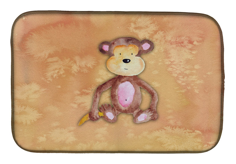 Buy this Monkey Watercolor Dish Drying Mat BB7380DDM