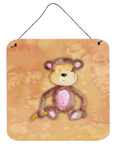 Buy this Monkey Watercolor Wall or Door Hanging Prints BB7380DS66