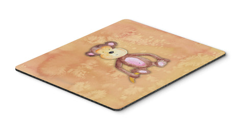 Buy this Monkey Watercolor Mouse Pad, Hot Pad or Trivet BB7380MP