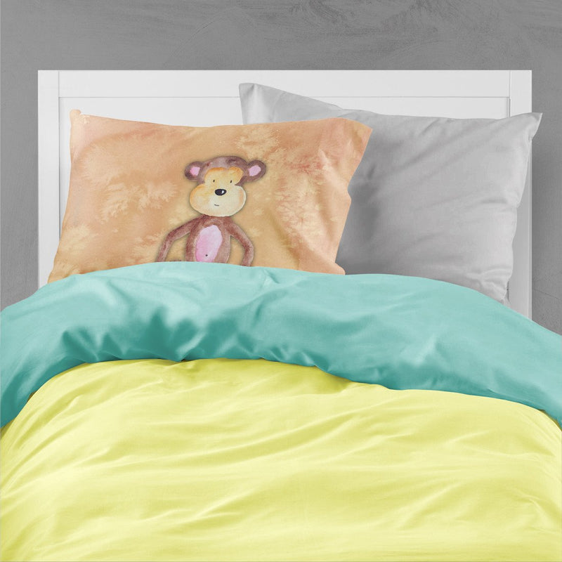 Buy this Monkey Watercolor Fabric Standard Pillowcase BB7380PILLOWCASE