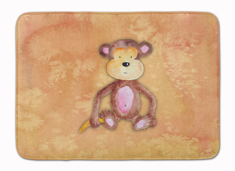 Buy this Monkey Watercolor Machine Washable Memory Foam Mat BB7380RUG