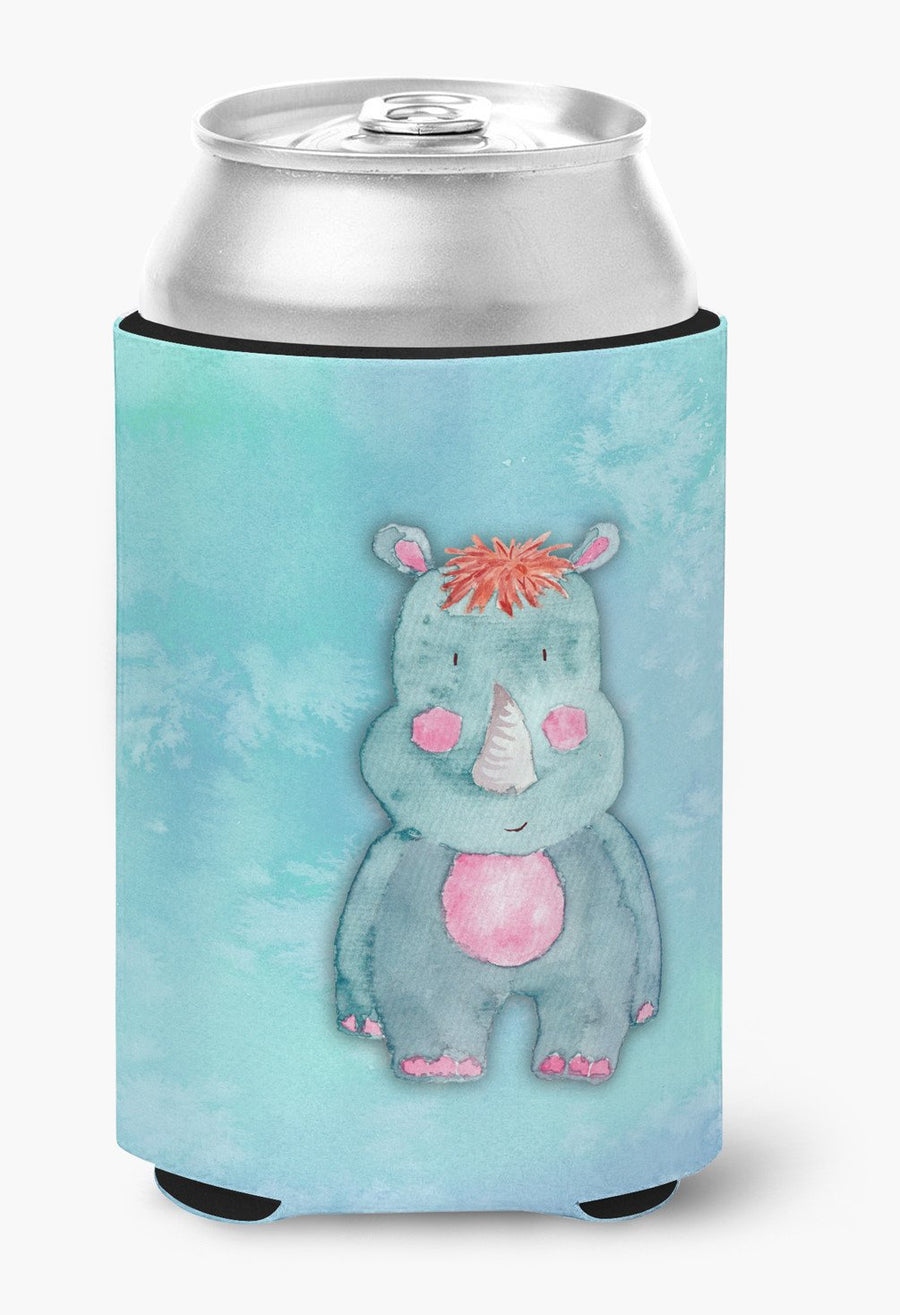 Buy this Rhinoceros Watercolor Can or Bottle Hugger BB7381CC