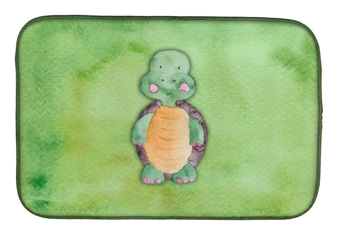 Buy this Turtle Watercolor Dish Drying Mat BB7382DDM