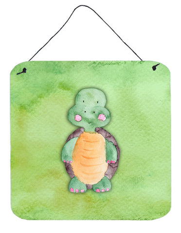 Buy this Turtle Watercolor Wall or Door Hanging Prints BB7382DS66