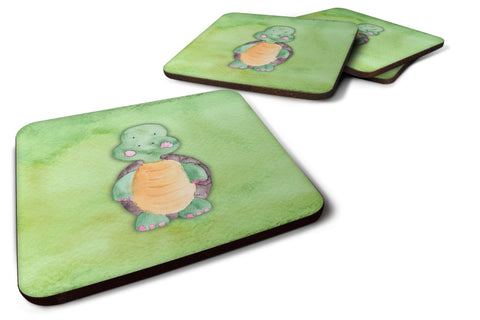 Buy this Turtle Watercolor Foam Coaster Set of 4 BB7382FC
