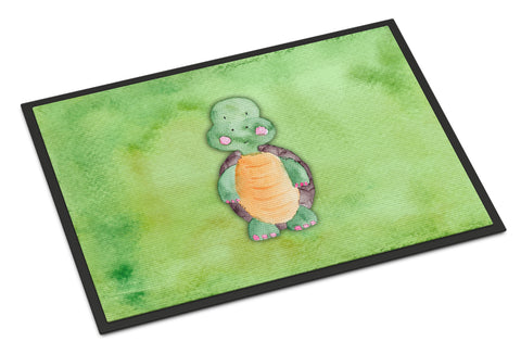 Buy this Turtle Watercolor Indoor or Outdoor Mat 18x27 BB7382MAT