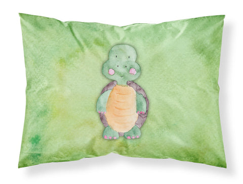 Buy this Turtle Watercolor Fabric Standard Pillowcase BB7382PILLOWCASE