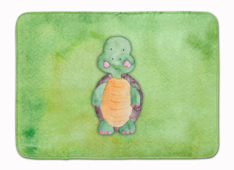 Buy this Turtle Watercolor Machine Washable Memory Foam Mat BB7382RUG