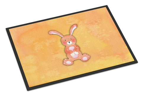 Buy this Rabbit Watercolor Indoor or Outdoor Mat 18x27 BB7383MAT