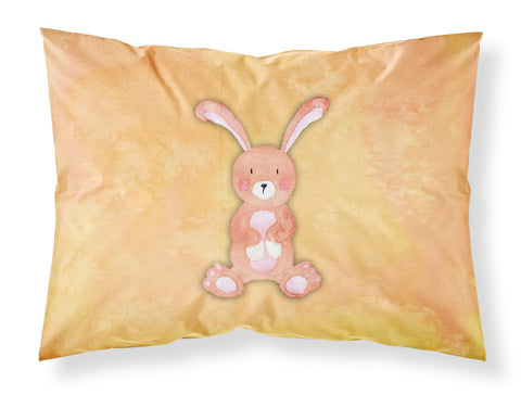 Buy this Rabbit Watercolor Fabric Standard Pillowcase BB7383PILLOWCASE