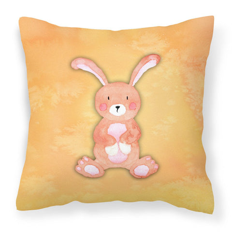 Buy this Rabbit Watercolor Fabric Decorative Pillow BB7383PW1818