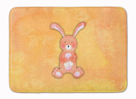 Buy this Rabbit Watercolor Machine Washable Memory Foam Mat BB7383RUG