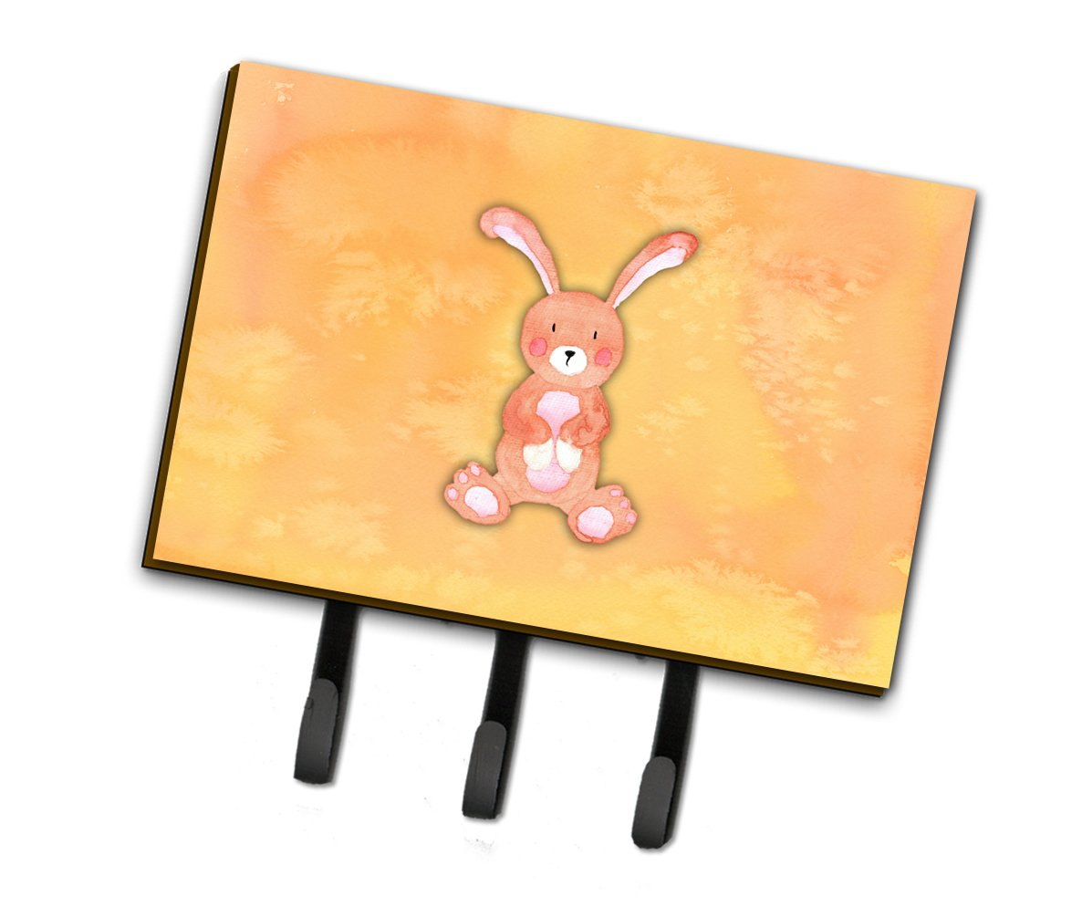 Buy this Rabbit Watercolor Leash or Key Holder